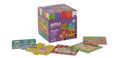 Играй и учи с APLI Kids 13193 Пъзел - предметите в къщи. Безопасна играчка за деца над 3 години.