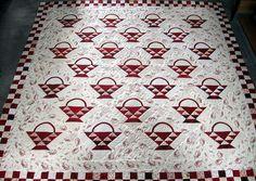 beautiful basket quilt