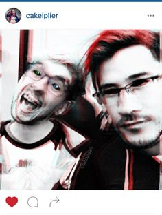 Antisepticeye and Darkiplier edit All credit to artist