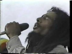 "Bob Marley ""No Woman No Cry"" 1979  @Cassie Perdue **Love this! I was 10 and not allowed to listen to him :-(  Whatever, I've made up for it!"