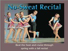 No-Sweat Recital