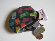 Doctor Who multicoloured Tardis metal frame coin by CapesAndCrafts, £9.00