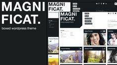 MAGNIFICAT Photography #Wordpress #Responsive Template - #html5 #css3 #jquery slider ready