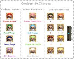 Image Animal Crossing New Leaf les coiffures et les
