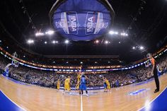 The Dallas Mavericks face Alba Berlin during NBA Europe Live 2012 at the 02 World Arena on October 6, 2012 in Berlin, Germany!