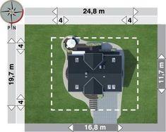 DOM.PL™ - Projekt domu AN LAZURYT CE - DOM AO10-37 - gotowy koszt budowy Soccer, Sports, Hs Sports, Football, European Football, Sport, Soccer Ball, Futbol