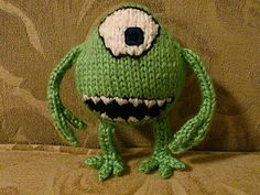 Free Knitting Pattern - Amigurumi: Mike Monster