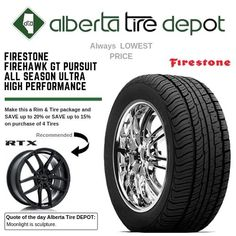 Firestone Firehawk GT Pursuit All Season - Ultra High Performance Tyre Companies, Firestone Tires, Service Map, Quote Of The Day, Seasons, Seasons Of The Year, Day Quotes