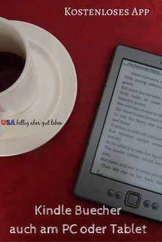 Du brauchst keinen Kindle um Kindle Bücher zu lesen. Es gibt ein kostenloses App mit dem kannst du auch am PC oder Tablet Kindle Buecher lesen. Amazon.com hat eine sehr umfangreiche Auswahl an deutschen Kindle Buechern fuer dich.  #UsaBilligAberGutLeben