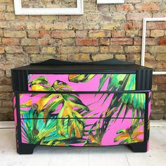 Upcycled vintage Lebus chest of drawers