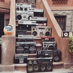 Rap Music And Hip Hop Culture Collection Boombox, 80s Hip Hop, Hip Hop Rap, Hip Hop Dance Music, Rap Music, Radios, Rock Am Ring, Baile Hip Hop, Foto Picture