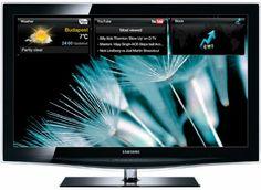 Samsung LE 32 B 650 81,3 cm (32 Zoll) 16:9 Full-HD Crystal TV LCD-Fernseher mit integriertem DVB-T/C Digitaltuner, 100Hz, 4x HDMI, MPEG4 (HD), 2x USB-Video, Internet@TV, Content Library (1G) schwarz