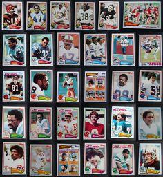 1982 Topps Football Cards Complete Your Set You U Pick From List 1-200 Xfl Football, Football Cards, Baseball Cards, Super Bowl Xvi, Broncos Team, Houston Oilers, Team Leader, Cincinnati Bengals, New York Jets