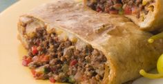 Skinny Points Recipes  » Skinny Chimichangas – Weight watchers >>>4 Servings >> 6 Smart Points each.