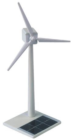Desk Wind Turbine - Science Toys - Office Desk Toys, Geek Swag & Cool Gadgets at KlearGear.com
