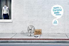 Paraná Refrigeração: Looking for work   #ads #marketing #creative #werbung #print #advertising #campaign < repinned by www.BlickeDeeler.de   Follow us on www.facebook.com/BlickeDeeler