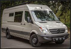 Our Vans - Custom Sprinter Camping Van, Vans Mercedes Sprinter, Sprinter Van Conversion, Sprinter Camper, Benz Sprinter, Mercedes Benz, Mb Vans, 4x4 Van, Van Camping, Custom Vans