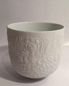 Rosenthal Björn Wiinblad kleiner Übertopf oder Vase