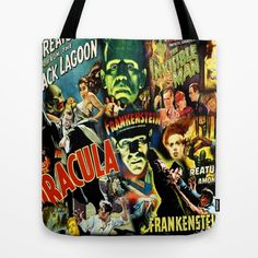 We Are The Monsters  Tote Bag