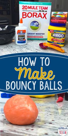 Looking for a recipe for a DIY bouncy ball? This blog post teaches you how to make homemade bouncy balls that are perfect for learning about the states of matter in Kindergarten, First, and Second Grade!