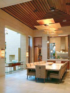 Model Plafon Kayu Jati Rumah Mnimalis Sederhana Kecil Elegan Modern Terbaru