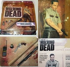 McFarlane AMC Walking Dead DEPUTY RICK GRIMES Series 1 Action Figure NIP