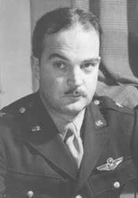 Gen. Nathan Bedford Forrest III, the great-grandson of Confederate General Nathan Bedford Forrest. KIA in 1943 during a B-17 raid over the submarine yards of Kiel, Germany. Regarded as one of the best and youngest Air Force Generals of his day. Declared dead and posthumously received the DFO. His body was recovered from Germany and he was laid to rest in Arlington National Cemetery on grounds once owned by his great-grandfather's commanding officer, General Robert E. Lee.