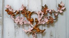Architectural salvage metal fence fragment by AnitaSperoDesign, $85.00