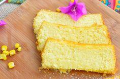 Gluten-Free, Super Moist Corn Cake/ Pamonha de Forno...
