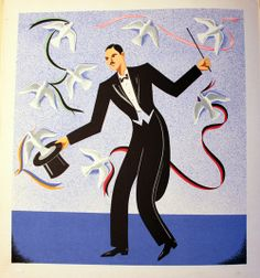 """1940s """"Le Cirque Cirkus"""" illustrated by de Santa Rosa."""