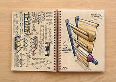 whether you are product or graphic designer looking for an inspirational post on cool concept sketches, here are 30 inspiring product design concept sketches for inspiration. Illustration Sketches, Drawing Sketches, Sketching, Sketch Design, 3d Design, Rustic Bedroom Furniture, Dump Furniture, Modular Furniture, Steel Furniture