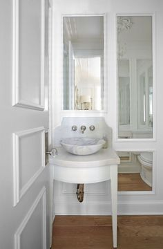 Cantley & Company - Design Chic - ingenious design for small bath