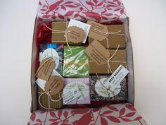 As embalagens preparadas com amor e carinho para serem enviadas para nossos clientes.