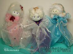 Работа Рождественские ангелочки автор Светлана, в технике Другое, Изделия из ткани, лент