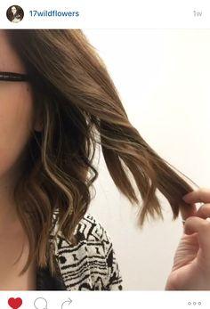 My new hair! It's a long bob with lots of balayage. -P:jamieriahi92 #aveda #balayage