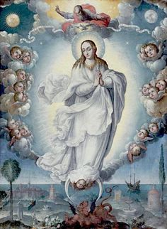 La Inmaculada Concepción, Alonso López de Herrera.