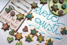 cookies al cioccolato bianco e glasse
