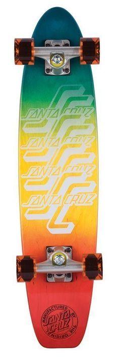 Bullet Skateboard Helmet OGSC Santa Cruz Logo White Size S//M