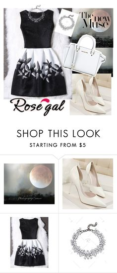 """Rosegal 15"" by esma-osmanovic ❤ liked on Polyvore featuring MICHAEL Michael Kors"