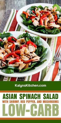 Spinach Salad Recipes, Best Salad Recipes, Asian Recipes, Healthy Recipes, Healthy Meals, Keto Recipes, Dressing For Fruit Salad, Salad Dressing Recipes, Salad Dressings