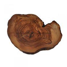 Olive Wood Rustic Trivet