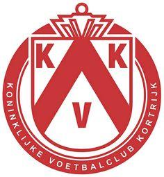 Koninklijke Voetbalclub Kortrijk (KV Kortrijk / KV Courtrai / KVK) | Country: Belgium / Belgique / België / Belgien. País: Bélgica. | Founded/Fundado: 1901/03/14 | Badge/Crest/Logo/Escudo.