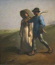 Jean-François Millet - Aller au travail (1851)