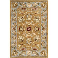 Hand-tufted wool rug.Features:Technique: TuftedMaterial: 100% pure woolStyle: TraditionalStrong co...