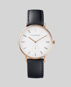 Introducing 'The Classic' timepiece by The Horse. An agelessly refined everyday choice. With a narrow body and a clean-lined dial designed with a single subdial