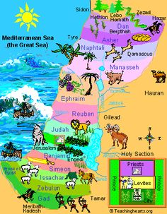 israel map for kids - Google Search