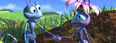 Animation Movies Full Length in English HD - Bug's Life - Movies For Chi. Disney Pixar Movies, Disney Characters, Julia Louis Dreyfus, A Bug's Life, Walt Disney Pictures, Life Images, Bugs, Children, Animation Movies