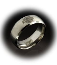 harley davidson black etched wedding bands - Google Search
