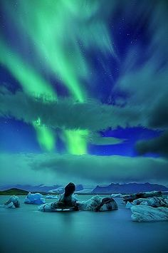 Aurora Borealis in the Arctic. Awesome! www.getgreenandgrow.com for more information on the Arctic