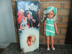 Vintage 1960's Sebino Bettina Bella Doll with Box | eBay sold for $275 on 05-17-15